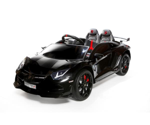 Black Lamborghini