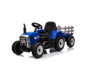 Blue Mercedes Tractor