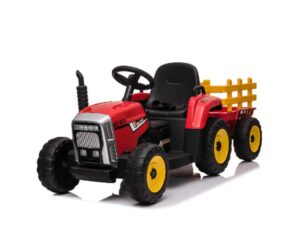 Red Mercedes Tractor