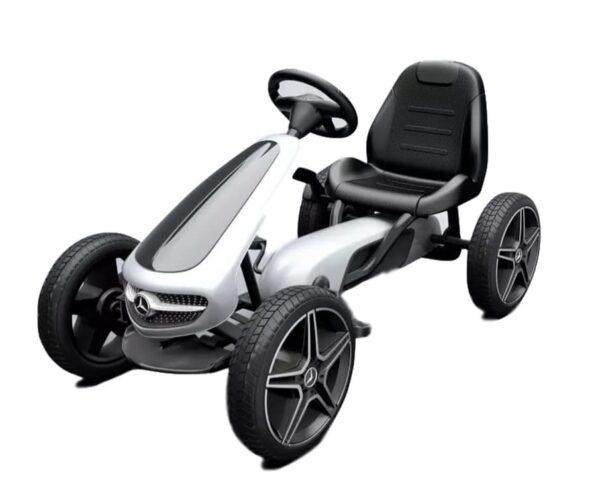 White Mercedes Go Kart