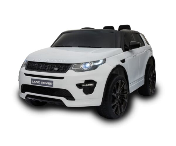 White Land Rover Discovery HSE Sport Ride On Car