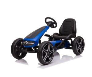 Blue Black Mercedes Go Kart