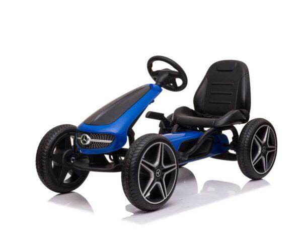 Blue Black Mercedes Go Kart