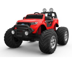 Red EVA Ford Monster Truck